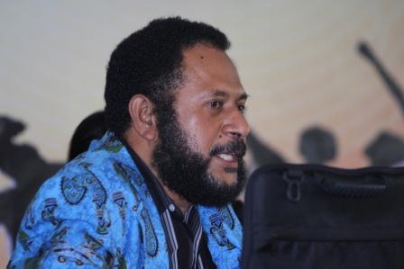 Leonard Imbiri, Secretary General of Dewan Adat Papua