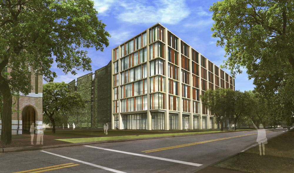 Office Exterior Rendering (North West Approach)