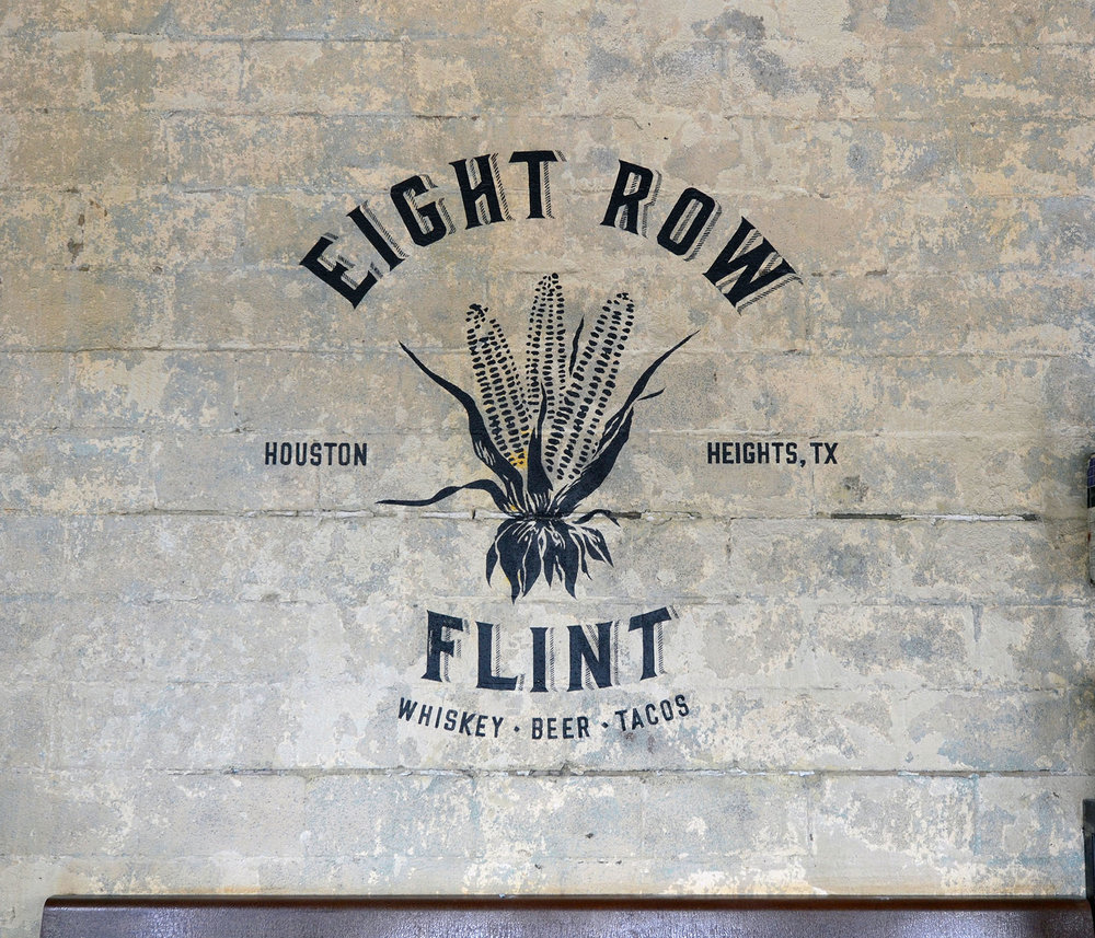 Eight row flint - branding