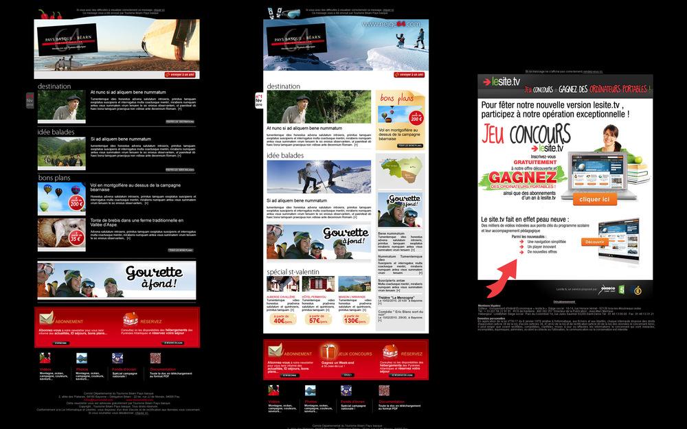 CDT Béarn et Pays Basque (2)   -   Lesite.tv (France télévision).