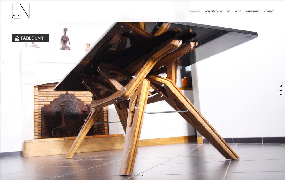 Loîc Nivoit : Loïc Nivoit, artisan menuisier, créateur de meubles.