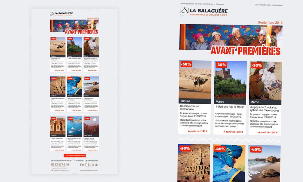 La Balaguère : infolettre pour le site de la Balaguère.
