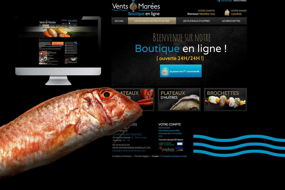 Boutique Vents et Marées : boutique en ligne.