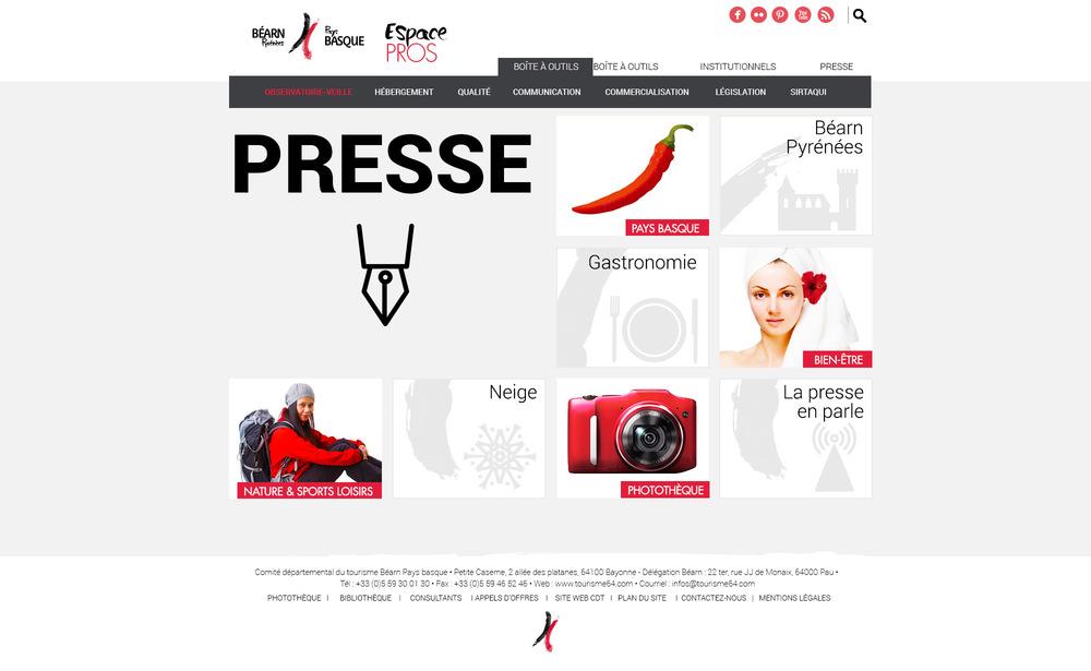 Espace Pros de Béarn Pyrénées Pays basque : l'espace Pros de Béarn Pyrénées Pays basque