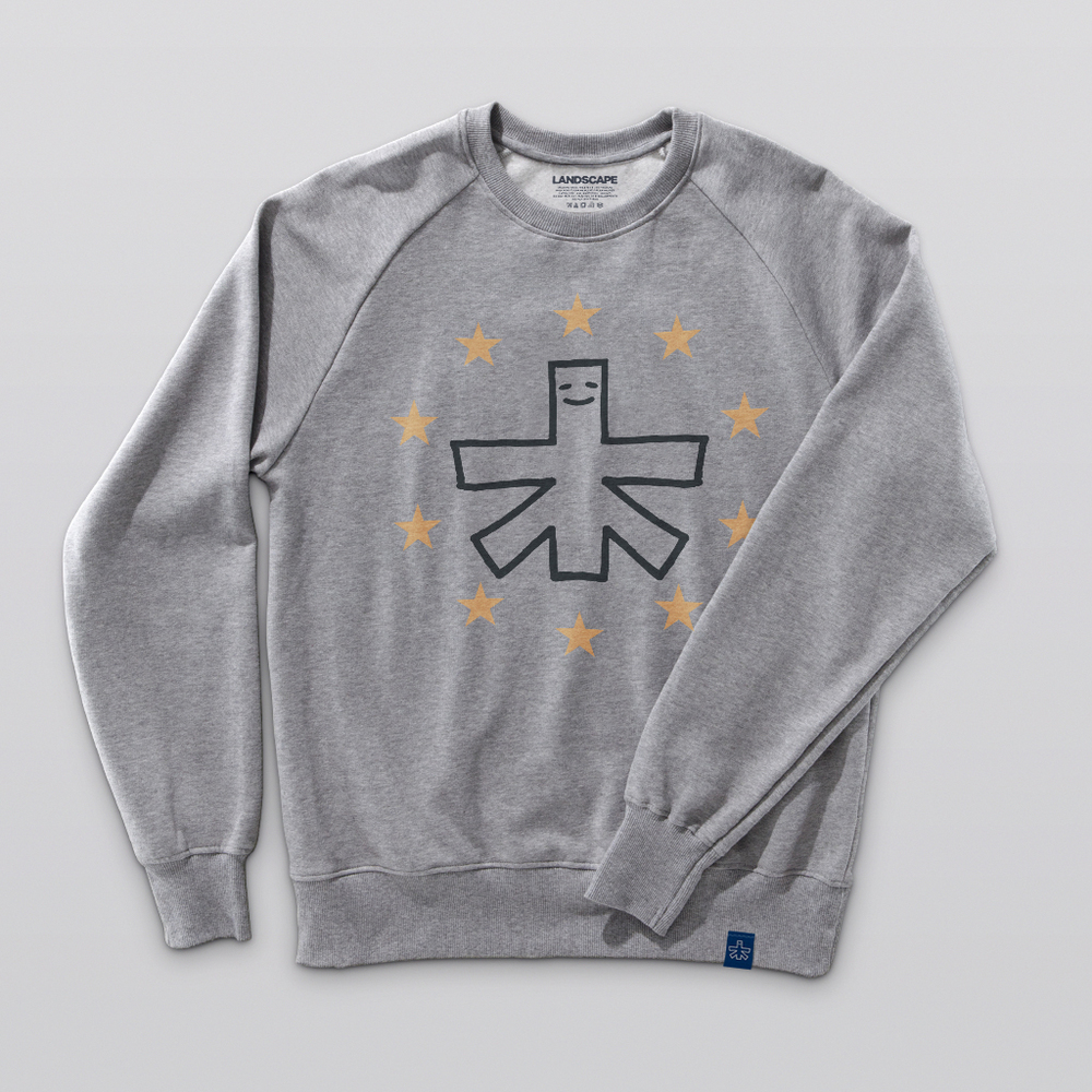 10 YEAR CREW Raglan Crew Athletic Heather
