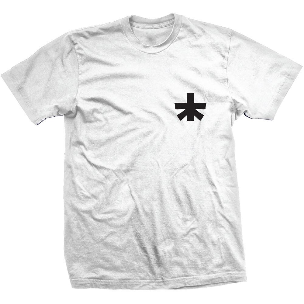 """Landscape """"Block"""" White T Shirt (Front)"""