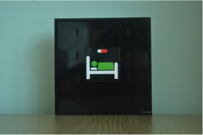 Wireless Display with Situated Glyph