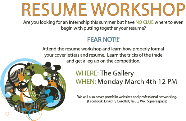 Resume Workshop Mike Lee
