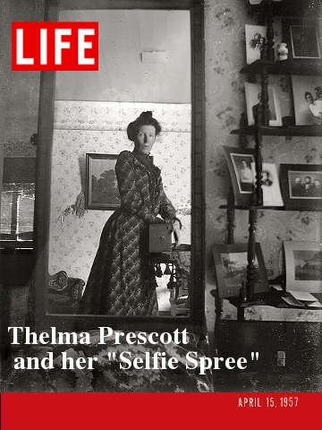 Thelma on the front cover of LIFE Magazine, April 15th, 1957.