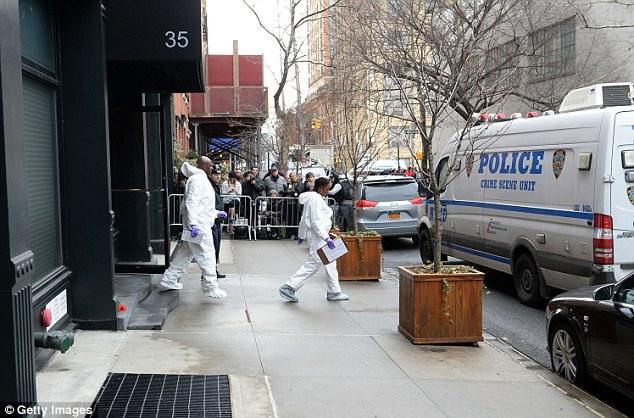CSI New York at the scene.