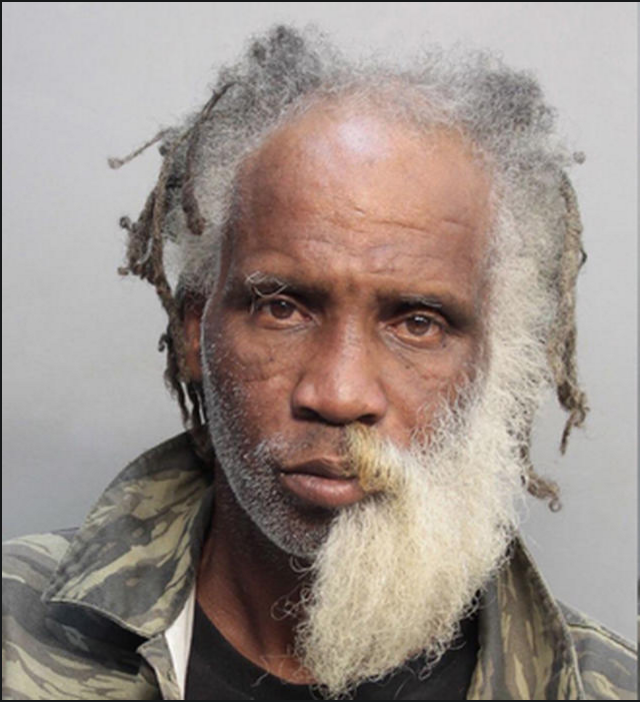 true crime tuesday mugshot of a guy with half a beard answers age