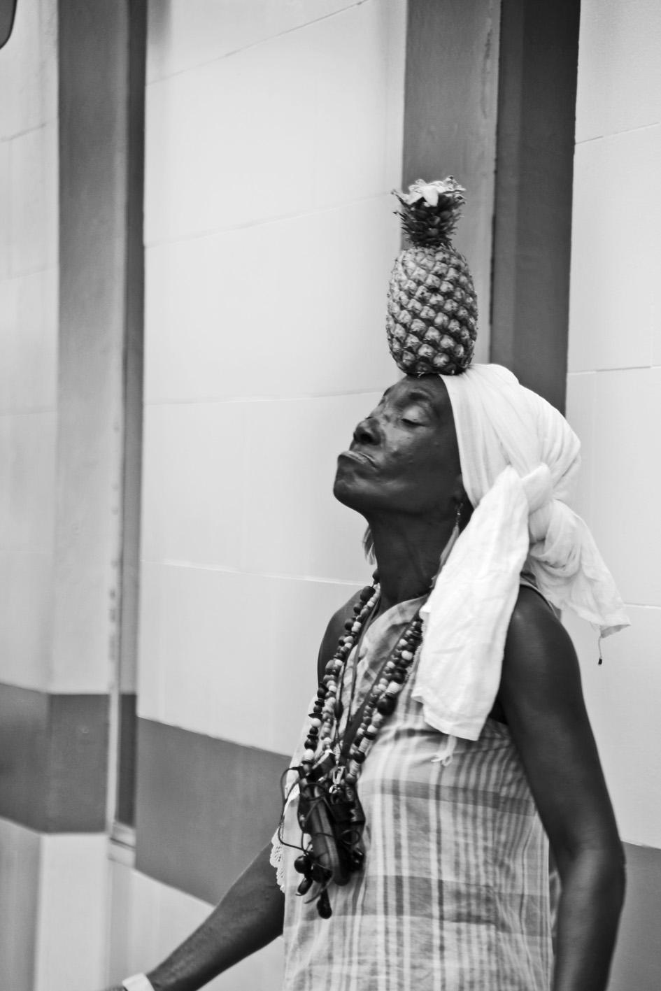 Pineapple Seller - Antigua