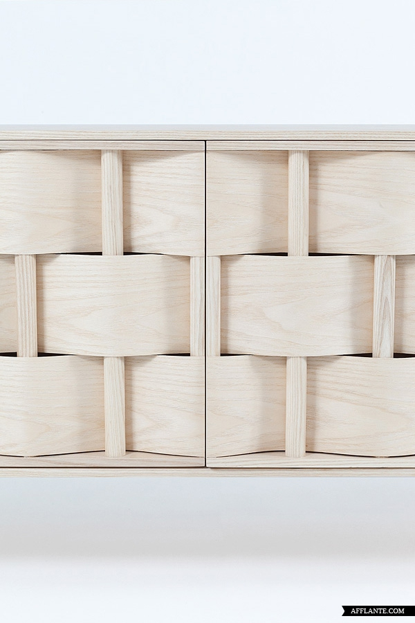 Weave cupboard by Lukas Dahlén