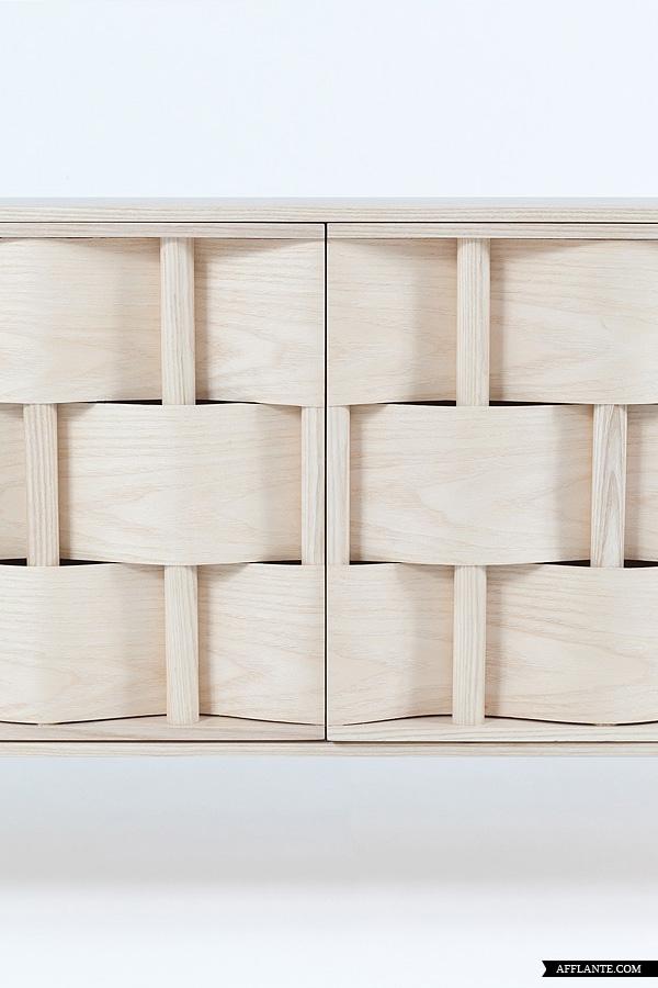 Weave cupboard by Lukas Dahlén