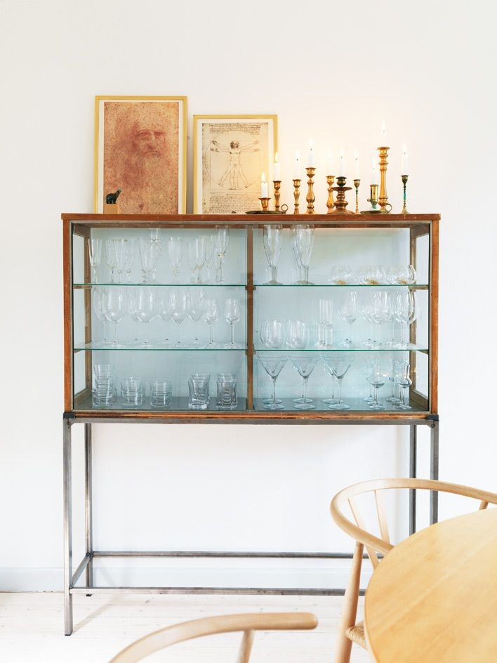 For all to see glass cupboard