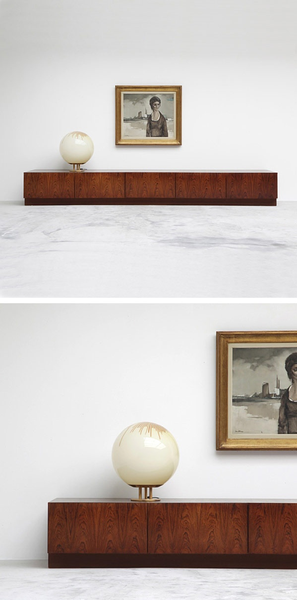 Low lying 70's credenza