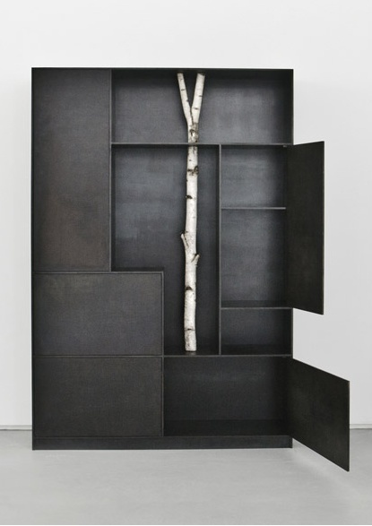 Trees by architect  Andrea Branzi  at Carpenters Workshop Gallery -