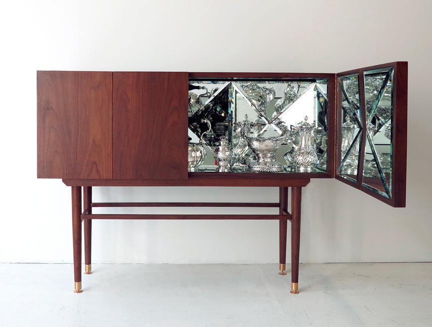 kaleidoscope cabinet by Sebastian Errazuriz