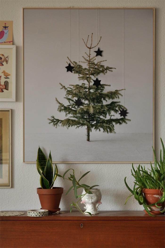 Christmas trees simplicity