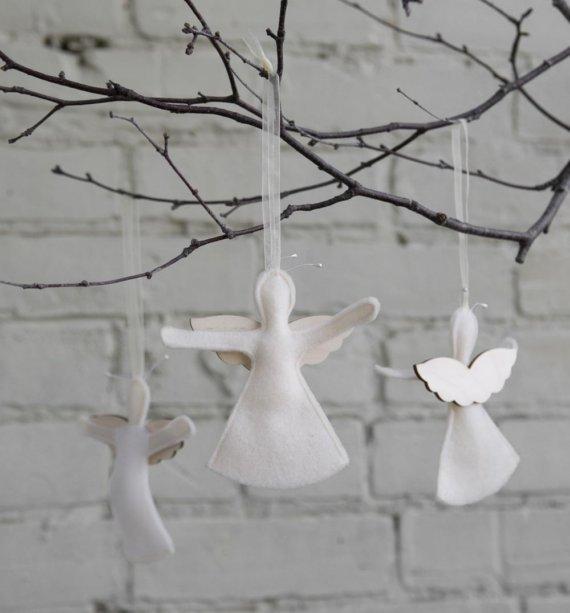 Angle ornaments:  etsy shop