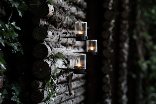Pipe candleholders by nordicdesign
