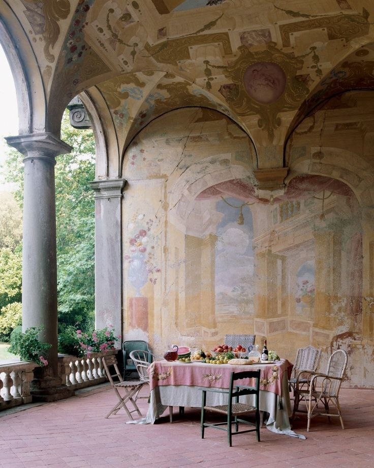 http://someplacespacious.tumblr.com/post/9223279180/seventeenth-century-frescoes-adorn-the-loggia-of