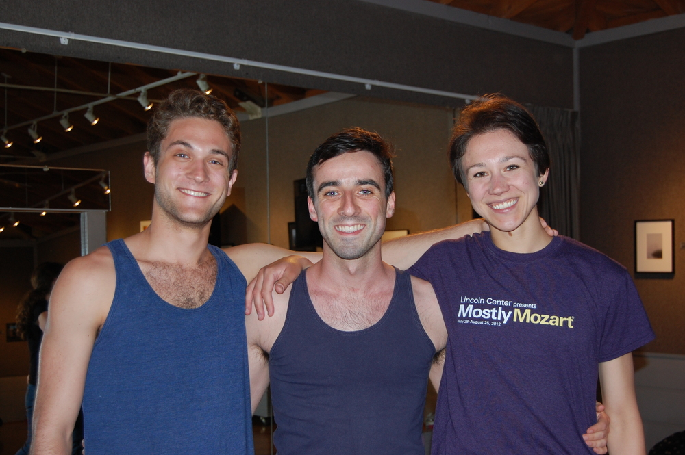 MMDG Dancers - Benjamin Freedman, Brian Lawson and Stacy Martorana