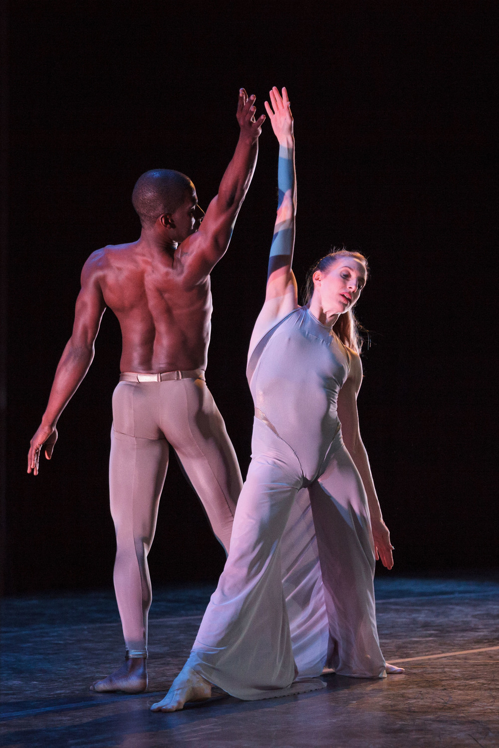 PHOTO CAPTION: Wendy Whelan and Lloyd Knight in Martha Graham's Canticle for   Innocent Comedians (1952); Photographer Karli Cadel; Courtesy of Jacob's Pillow Dance