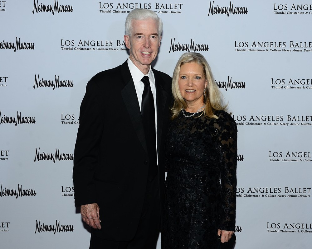Former Governor of California Gray Davis and wife Sharon Davis.  Photo Credit Brian Lindensmith.