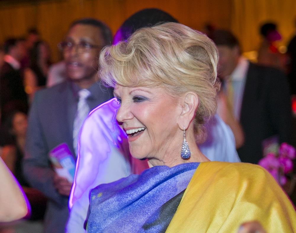 Elaine Wynn at the Ailey Spirit Gala at Lincoln Center.  Photo by Whitney Browne