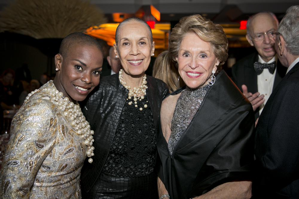 Hope Boykin, Carmen de Lavallade and Joan Weill. Photo by Whitney Browne