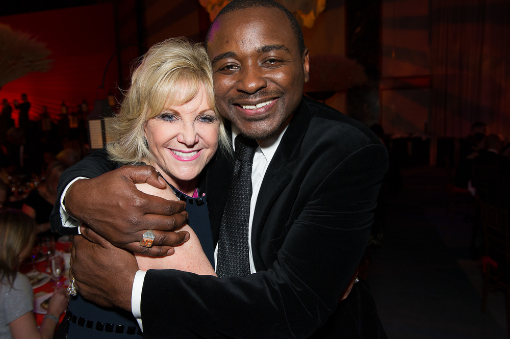 Elaine Wynn and Robert Battle.  Photo by Christopher Duggan.
