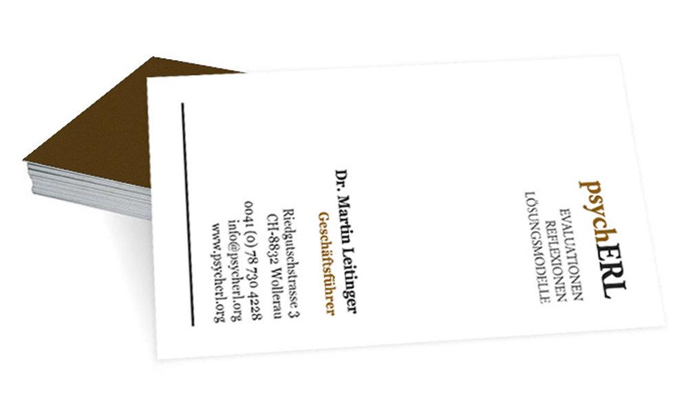 Drucksachen - Visitenkarten