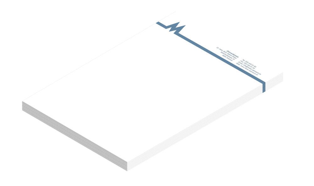 Drucksachen - Briefpapier