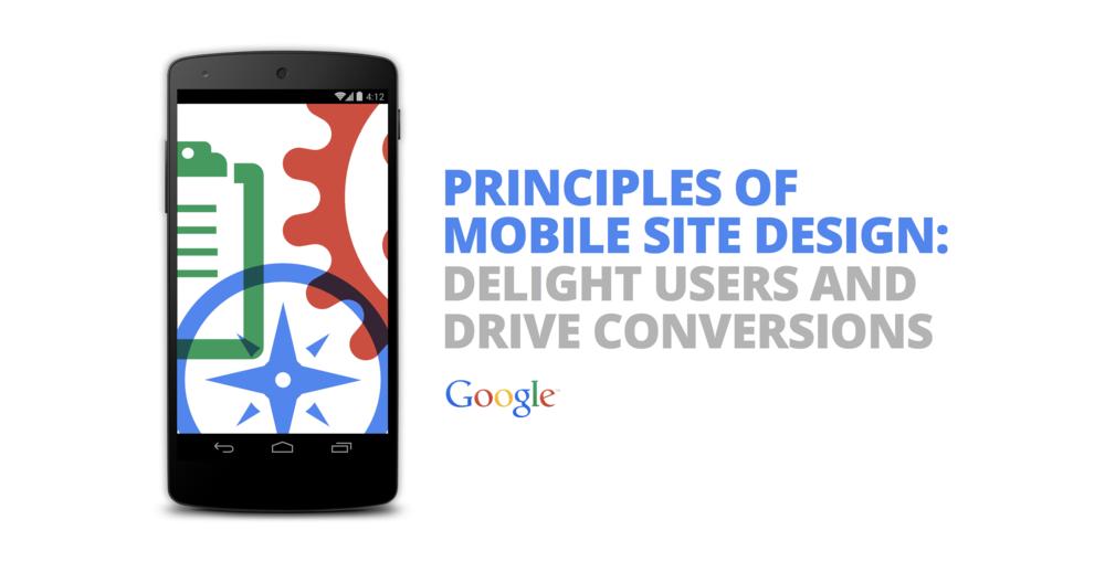 Prinzipien von Google in Sachen Mobile Webseite