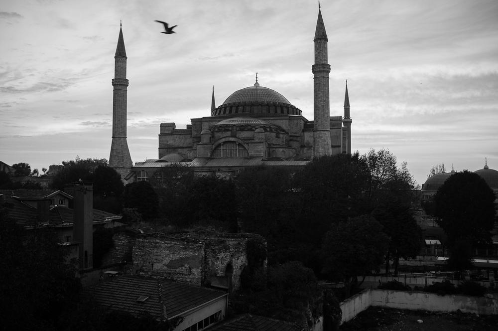 Hagia Sophia - Istanbul  Photography: Alan Thomas Duncan Wilkie