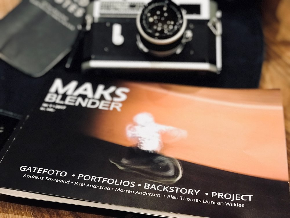 Maks Blender Magazine with content from Andreas Smaaland, Paal Audestad, Morten Andresen and my self.