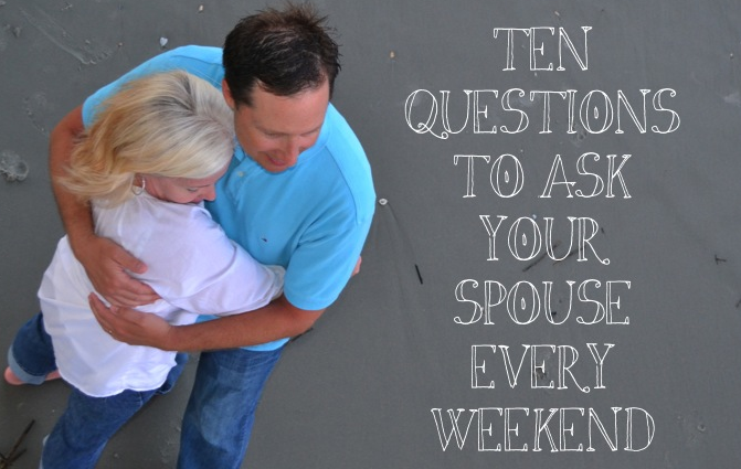 relationship questions to ask your spouse