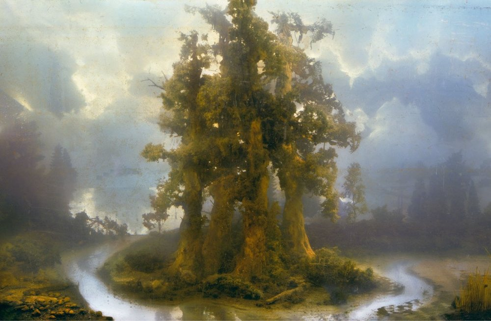 Kim Keever, staged photography.
