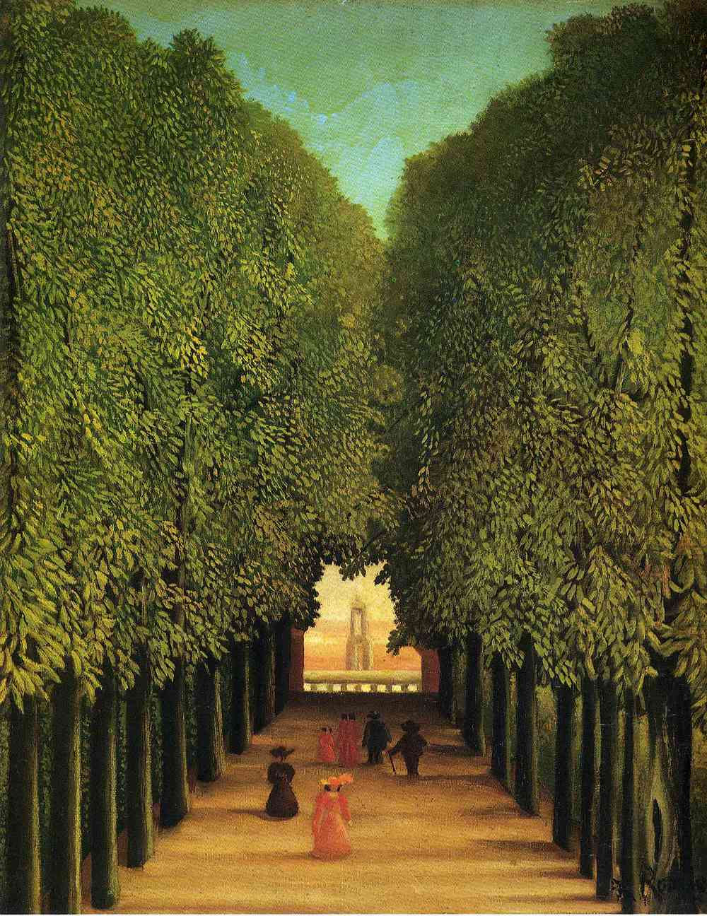 Henri Rousseau, late 19th century French painter and toll collector
