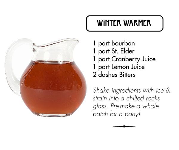 winter warmer recipe
