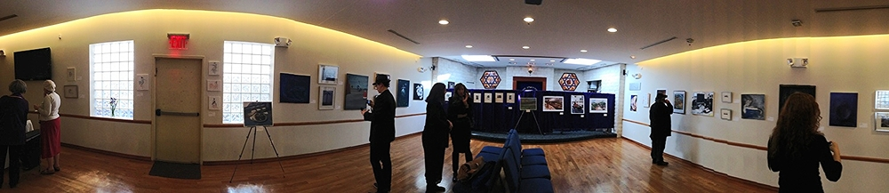 The 2013 Crescent Street Art Collective Exhibit @ Sons of Israel LIC. (click to enlarge) (c) Rodrigo Sanchez