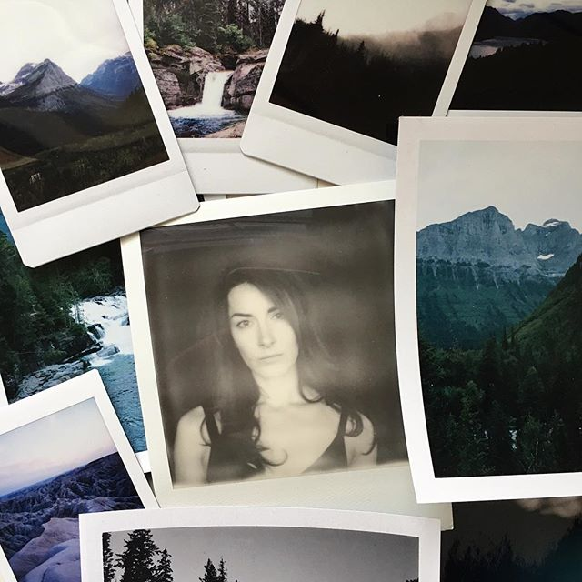 It's a goooood mail day when @ryanastadlerphotography sends you pics of Glacier National Park *and* of your somewhat/kinda/partially dressed self. 🙌🏻