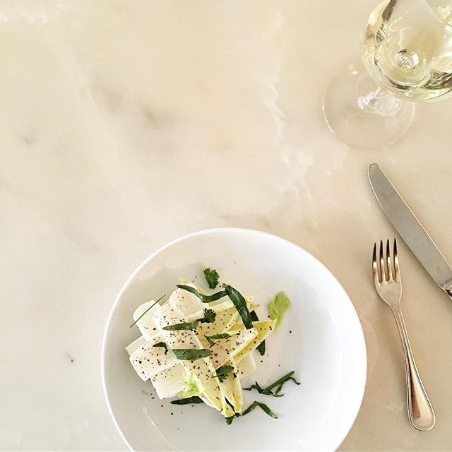 An endive salad and a James Beard finalist. So proud to spend my days (and nights and weekends) here.