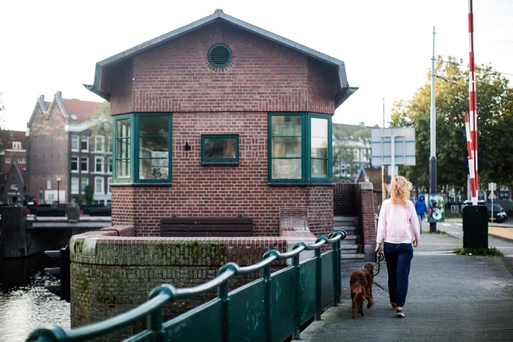 Here | Stay in Amsterdam's Historic Tiny Bridge Houses with New SWEETS Hotel