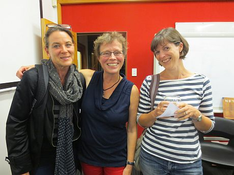 Astrid Wolter, Heike Papenthin and guest photo: Doris Evans