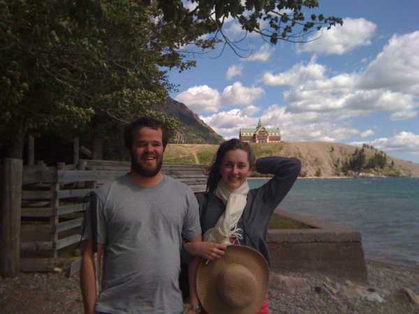Visiting Waterton National Park after the Great Canadian Barn Dance 2011.