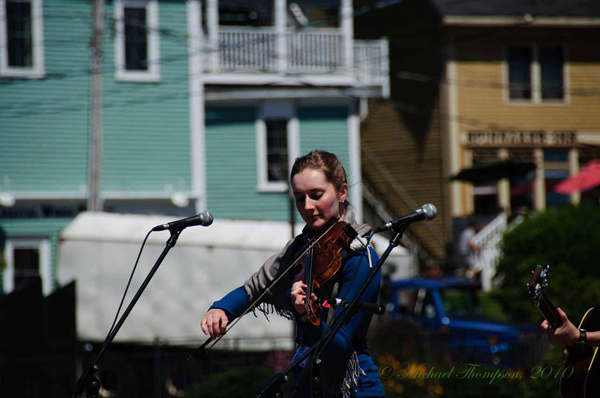 Lunenburg Folk Harbour Festival 2010  Photo by Michael Thompson
