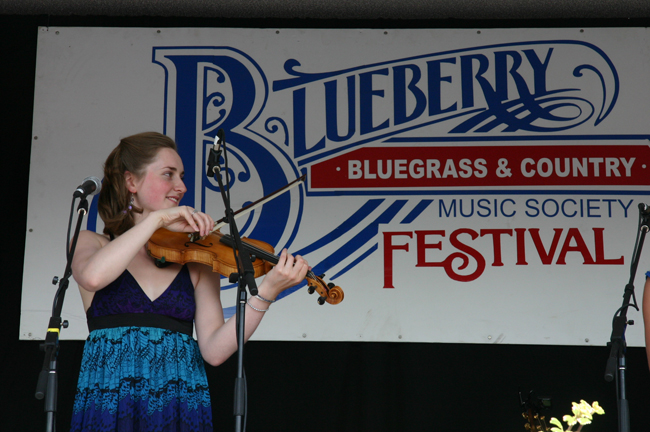 Blueberry Bluegrass Festival 2009   Photo by Marty Norad