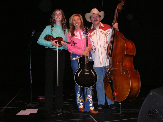 Lizzy, Eli Barsi and John Cunningham - Oberlin, Kansas - 2007